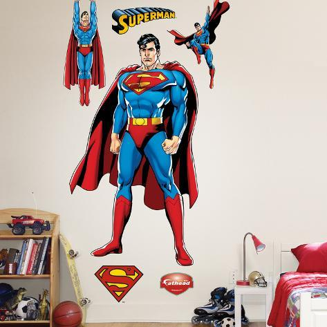 Superman Justice League Wall Decal