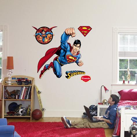 Superman - Man of Steel Wall Decal