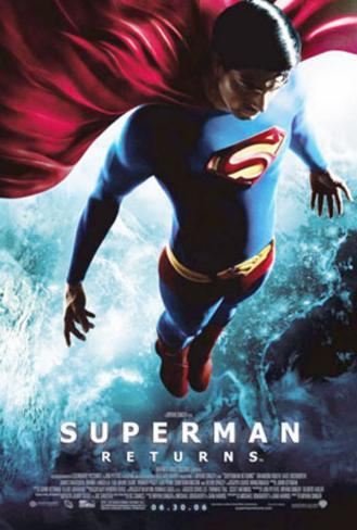 Superman Returns (Brandon Routh, Kevin Spacey, Kate Bosworth) Movie Poster Double-sided poster