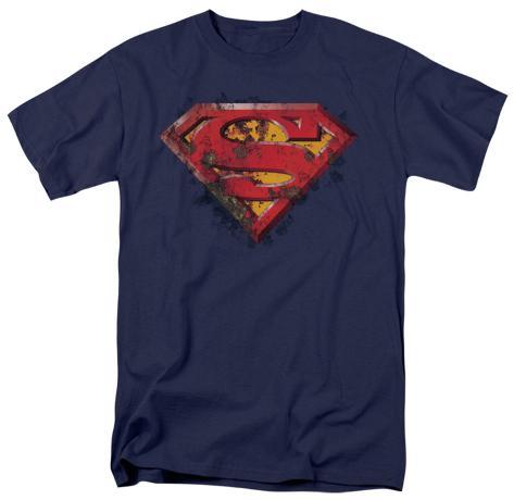 Superman - Rusted Shield T-Shirt