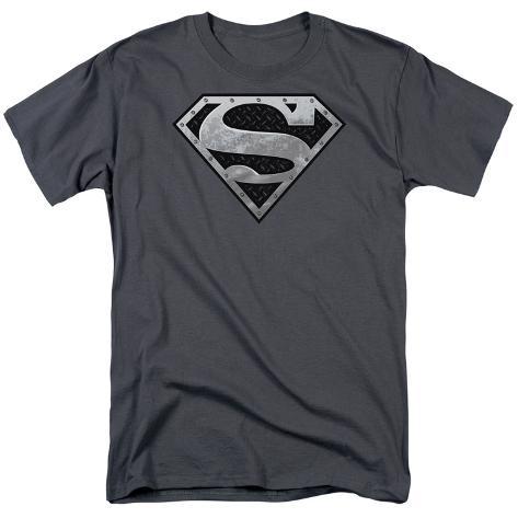 Superman - Super Metallic Shield T-Shirt