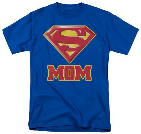 Superman-Super Mom T-Shirt
