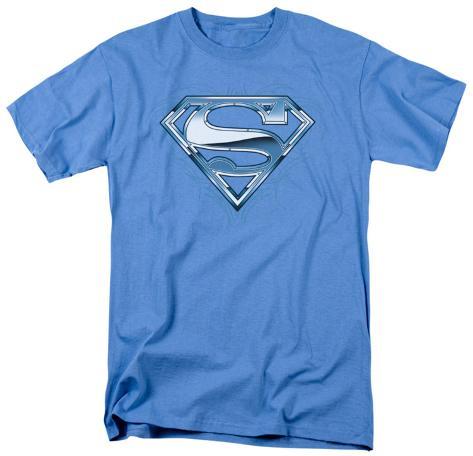 Superman - Tribal Chrome Shield T-Shirt