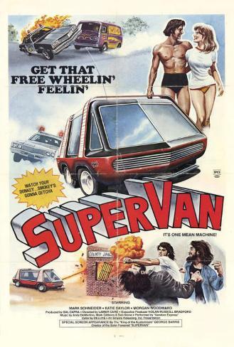 Supervan Poster