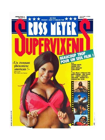 Supervixens, Shari Eubank, 1975 Gicléetryck
