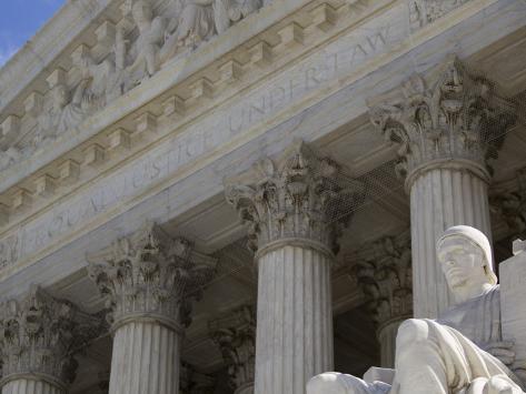 Supreme Court in Washington Photographic Print