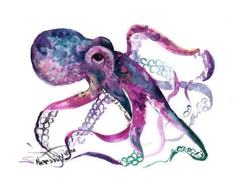 オールポスターズの suren nersisyan octopus 4 高品質プリント