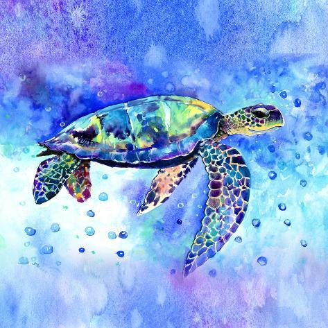 metal turtle wall decor.htm sea turtle blue giclee print by suren nersisyan at allposters com  sea turtle blue giclee print by suren