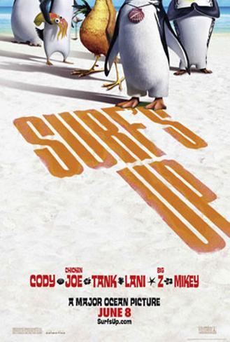 Surf's Up Double-sided poster