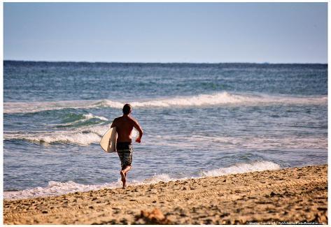 Surfer Boca Raton Florida Poster