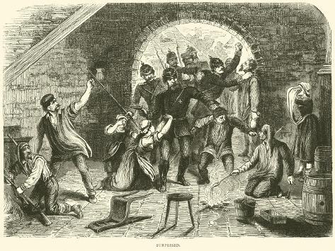 Surprised, January 1871 Giclee Print