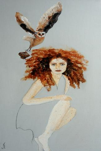 Coronation of a Redhead, 2016 Giclee Print