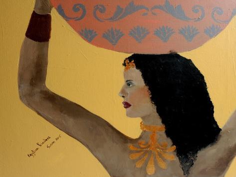 Egyptian Priestess 2015 Giclee Print
