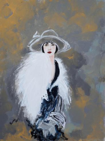 Foxy Lady, 2015 Giclee Print