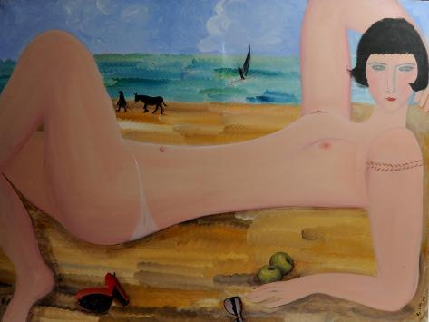 Nude with Red Shoe 2004 Giclee Print