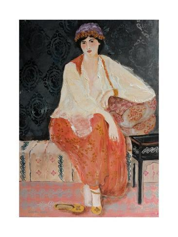 Turkish Beauty Giclee Print