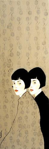 Twins, 2016 Giclee Print