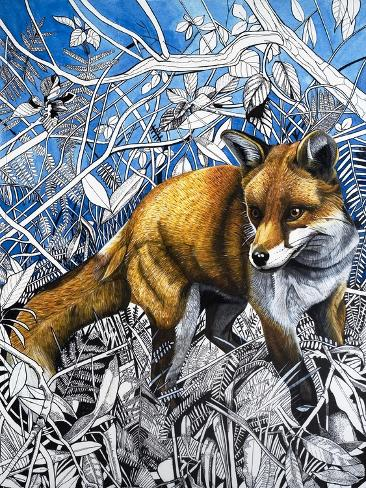 The Fox Is Coming to Town, from 'Nature's Kingdom' Giclee Print