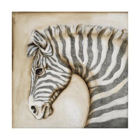 Serengetti Zebra Premium Giclee Print