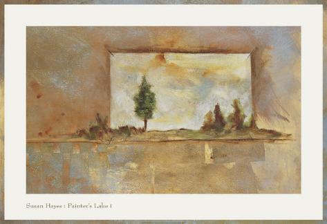 Painter's Lake I Art Print