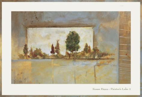 Painter's Lake II Art Print