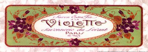 Violette Art Print