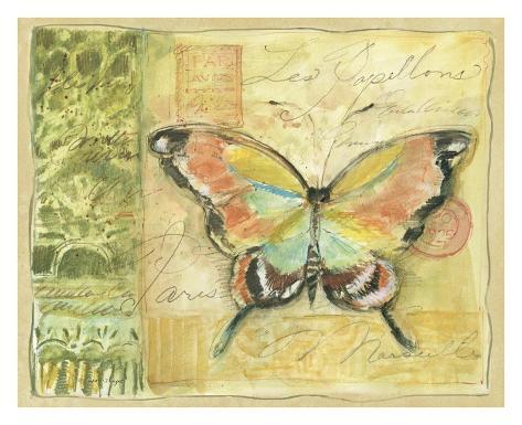 Golden Garden IV Art Print