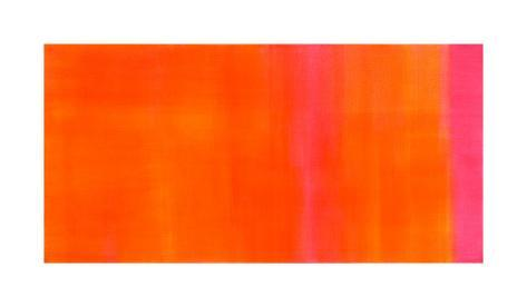 Orange-Magenta, c.2005 Serigraph