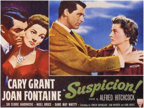 Suspicion, 1941 Art Print
