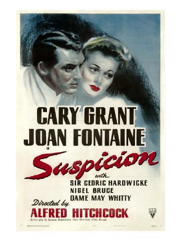 Suspicion, Cary Grant, Joan Fontaine, 1941 Photo