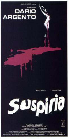 Suspiria - Italian Style Poster
