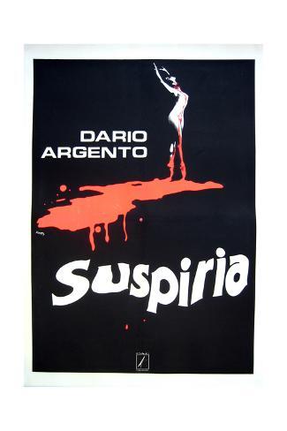 Suspiria - Movie Poster Reproduction Art Print