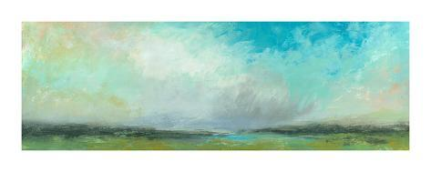 Summer Clouds Giclee Print