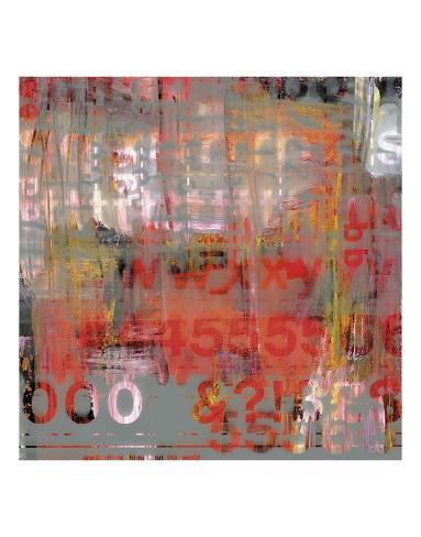 Letra Art XII Art Print