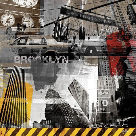 New York Streets II Art Print