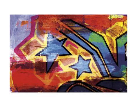 Urban Art I Art Print