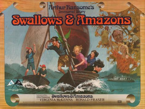 Swallows and Amazons Art Print