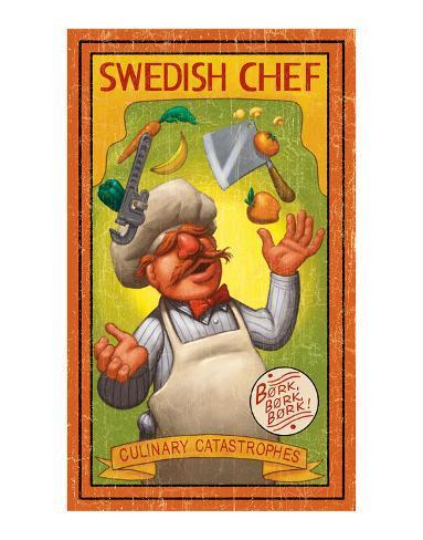 Swedish Chef: Culinary Catastrophes Art Print