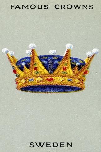 Swedish Crown, 1938 Stampa giclée