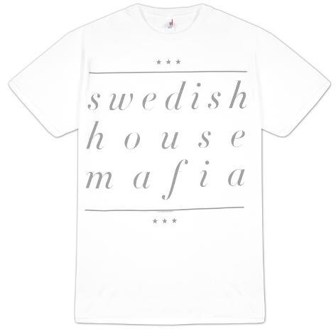 Swedish House Mafia - Underline Name (Slim Fit) T-Shirt