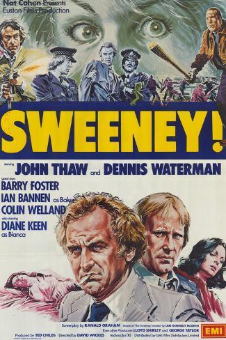 Sweeney! Art Print