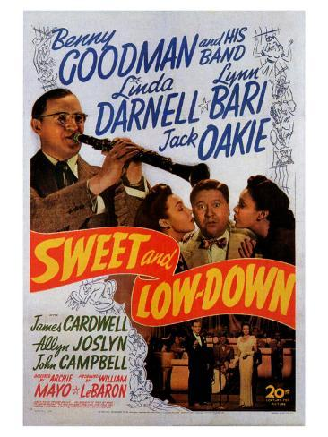 Sweet and Low-Down, 1944 Art Print