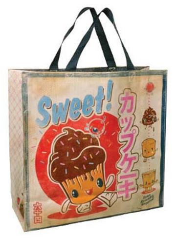Sweet Cupcake Shopper Bag Tote Bag