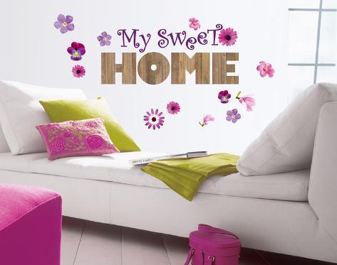 Sweet Home Wall Decal