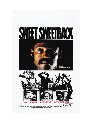 Sweet Sweetback's Baadasssss Song, Melvin Van Peebles, 1971 Photo