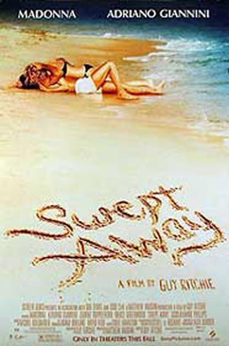 Swept Away Double-sided poster