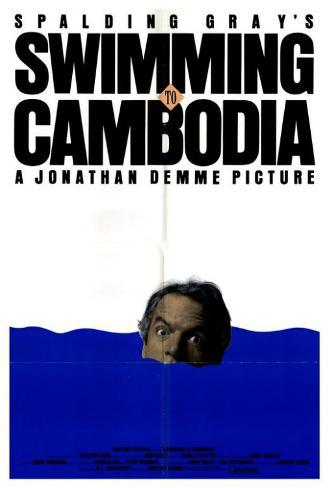 Swimming to Cambodia Poster
