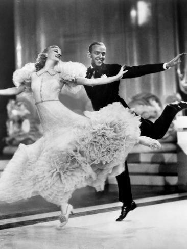 Swing Time, Ginger Rogers, Fred Astaire, 1936 Photo