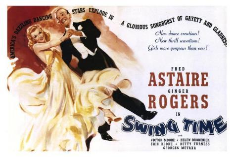 Swing Time Poster