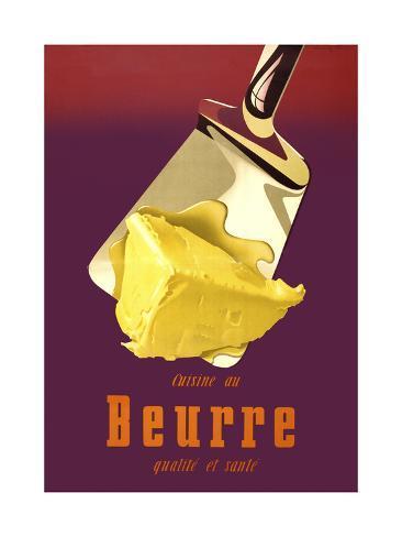 Swiss, Better Butter Giclée-vedos